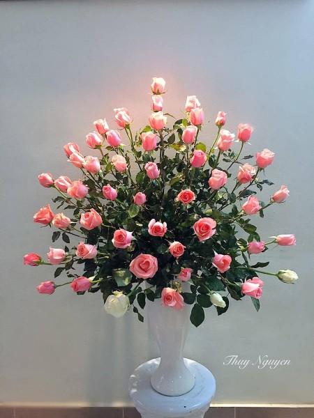 Kết quả hình ảnh cho cắm hoa hồng