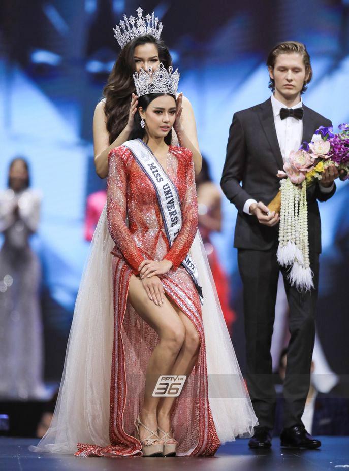 Người mẫu 25 tuổi đăng quang Hoa hậu Hoàn vũ Thái Lan 2020 - Ảnh 1.