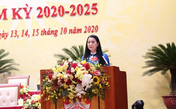 Vĩnh Phúc gặp mặt nữ đại biểu dự Đại hội Đảng bộ tỉnh lần thứ XVII - Ảnh 1.
