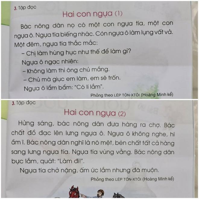 Bộ GD&ĐT yêu cầu hiệu đính ngữ liệu sách Tiếng Việt lớp 1 Cánh Diều - Ảnh 1.