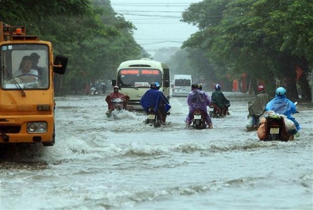 Theo dõi sát diễn biến mưa lũ và khắc phục hậu quả thiên tai - Ảnh 1.