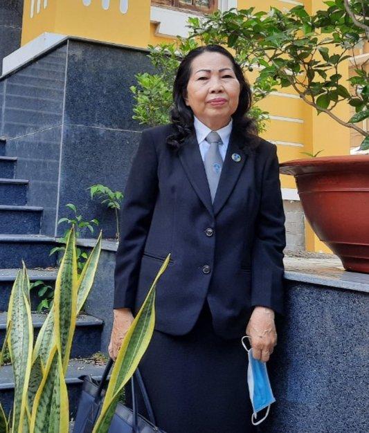 Luật sư Trần Thị Ngọc Nữ: Biểu tượng của sự tận hiến - Ảnh 5.
