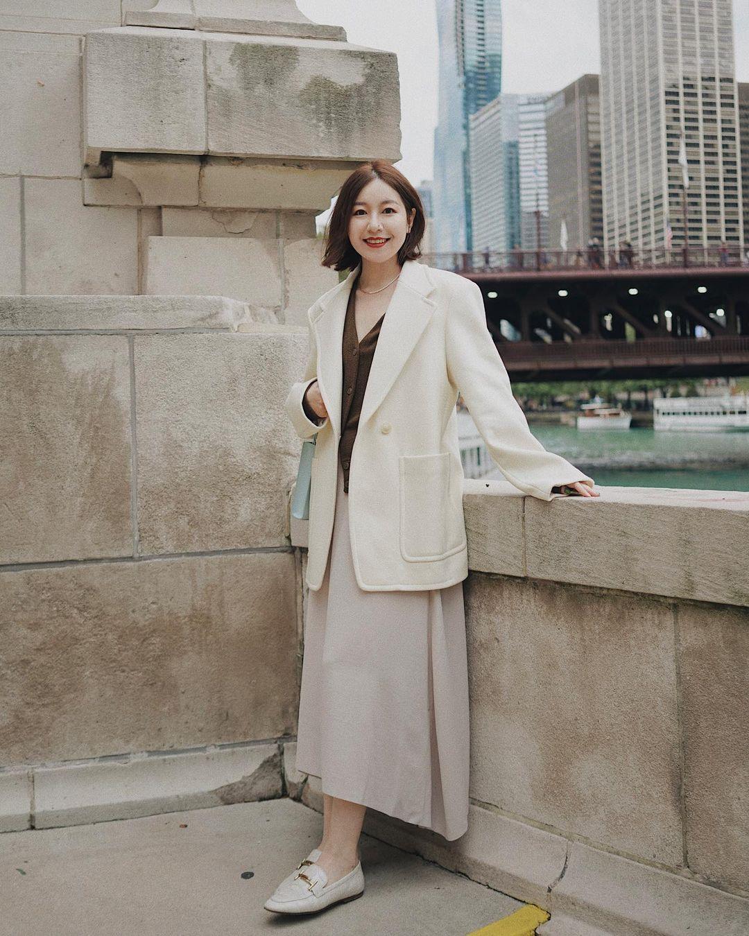 Chỉ với một kiểu blazer, nàng fashionista đã mix được cả chục set đồ xịn đẹp, thấy mà chẳng muốn shopping nhiều cho phí tiền - Ảnh 10.