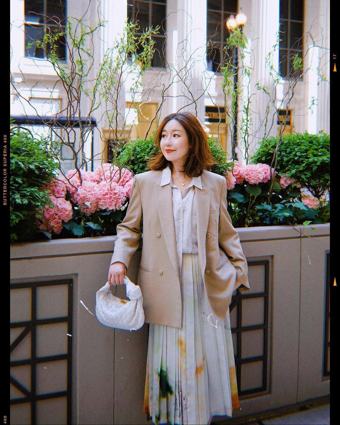 Chỉ với một kiểu blazer, nàng fashionista đã mix được cả chục set đồ xịn đẹp, thấy mà chẳng muốn shopping nhiều cho phí tiền - Ảnh 3.