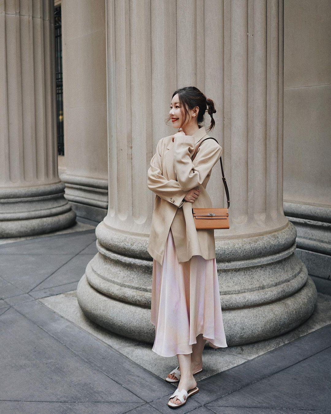 Chỉ với một kiểu blazer, nàng fashionista đã mix được cả chục set đồ xịn đẹp, thấy mà chẳng muốn shopping nhiều cho phí tiền - Ảnh 5.