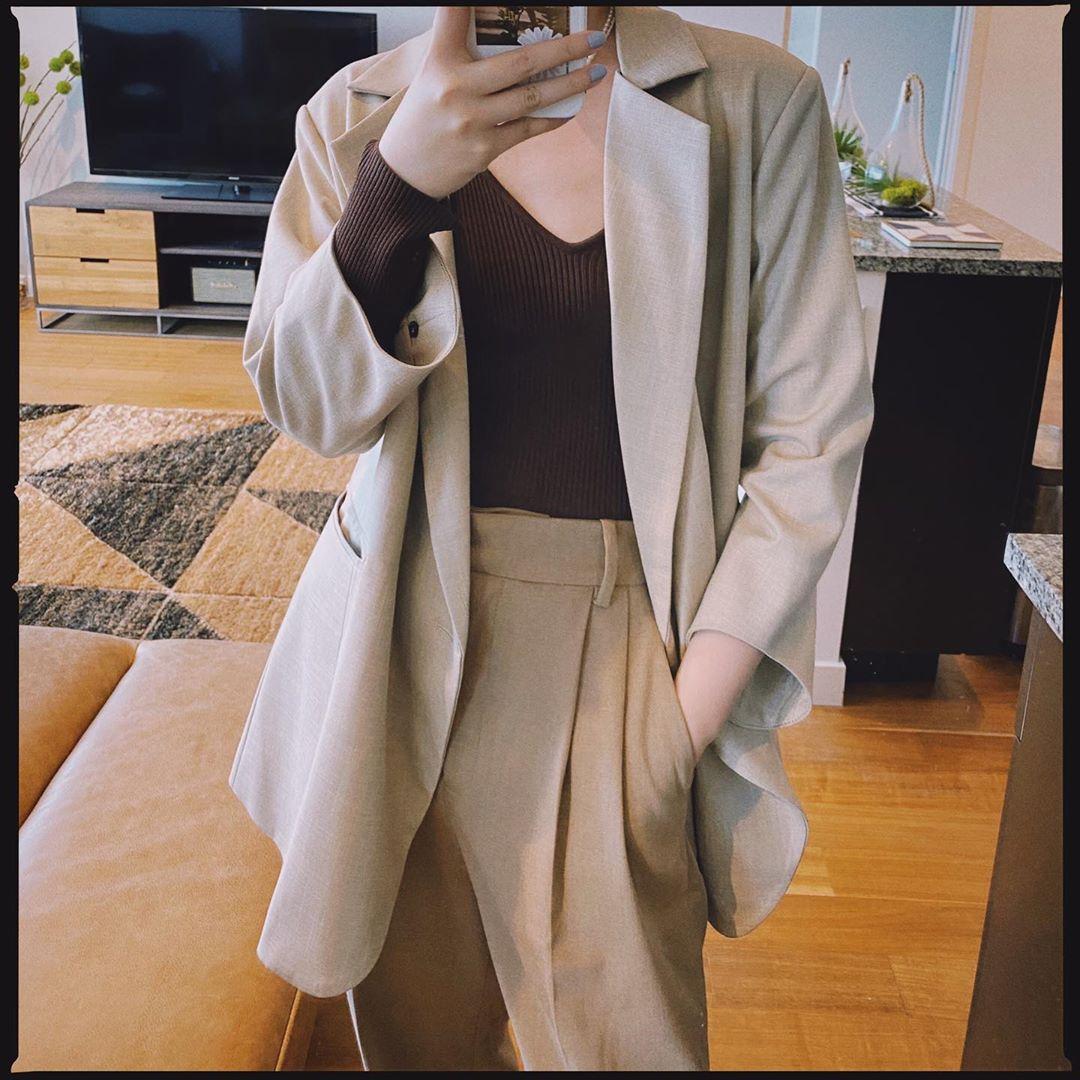 Chỉ với một kiểu blazer, nàng fashionista đã mix được cả chục set đồ xịn đẹp, thấy mà chẳng muốn shopping nhiều cho phí tiền - Ảnh 9.