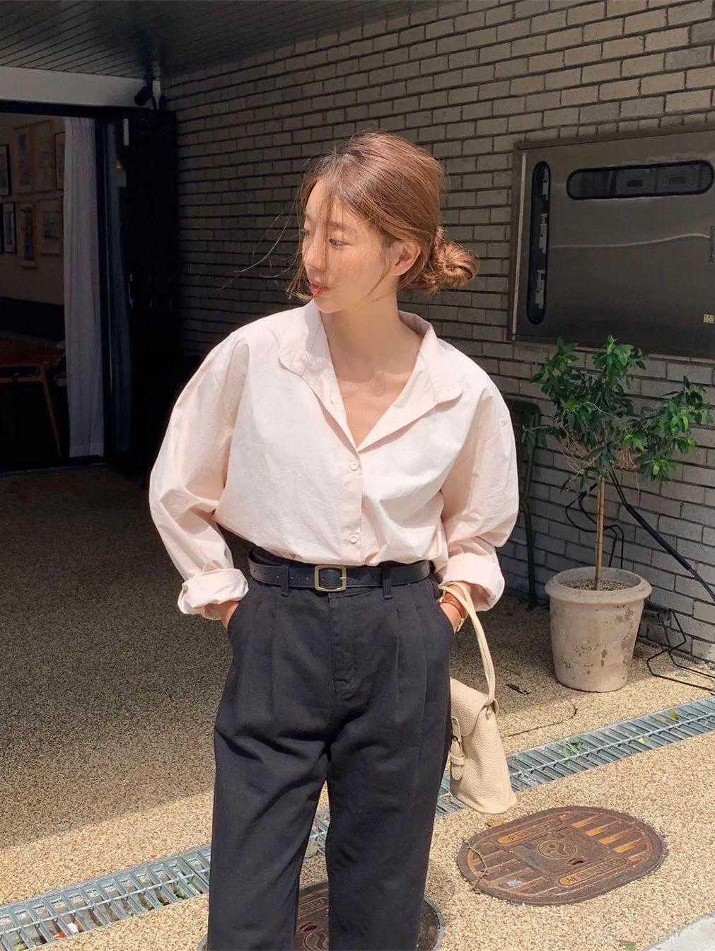 12 set đồ đáng chú ý từ hội gái Hàn mà nàng công sở có thể áp dụng đến ở làm - Ảnh 7.