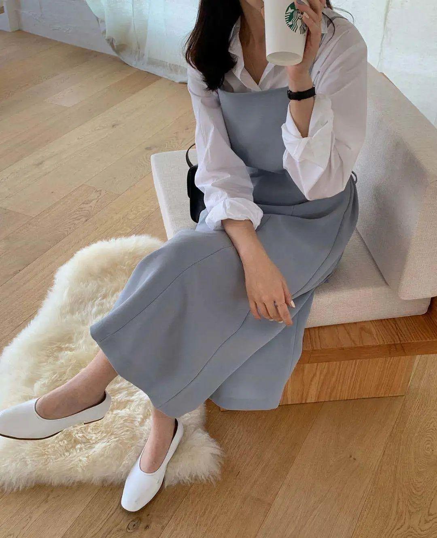 12 set đồ đáng chú ý từ hội gái Hàn mà nàng công sở có thể áp dụng đến ở làm - Ảnh 3.