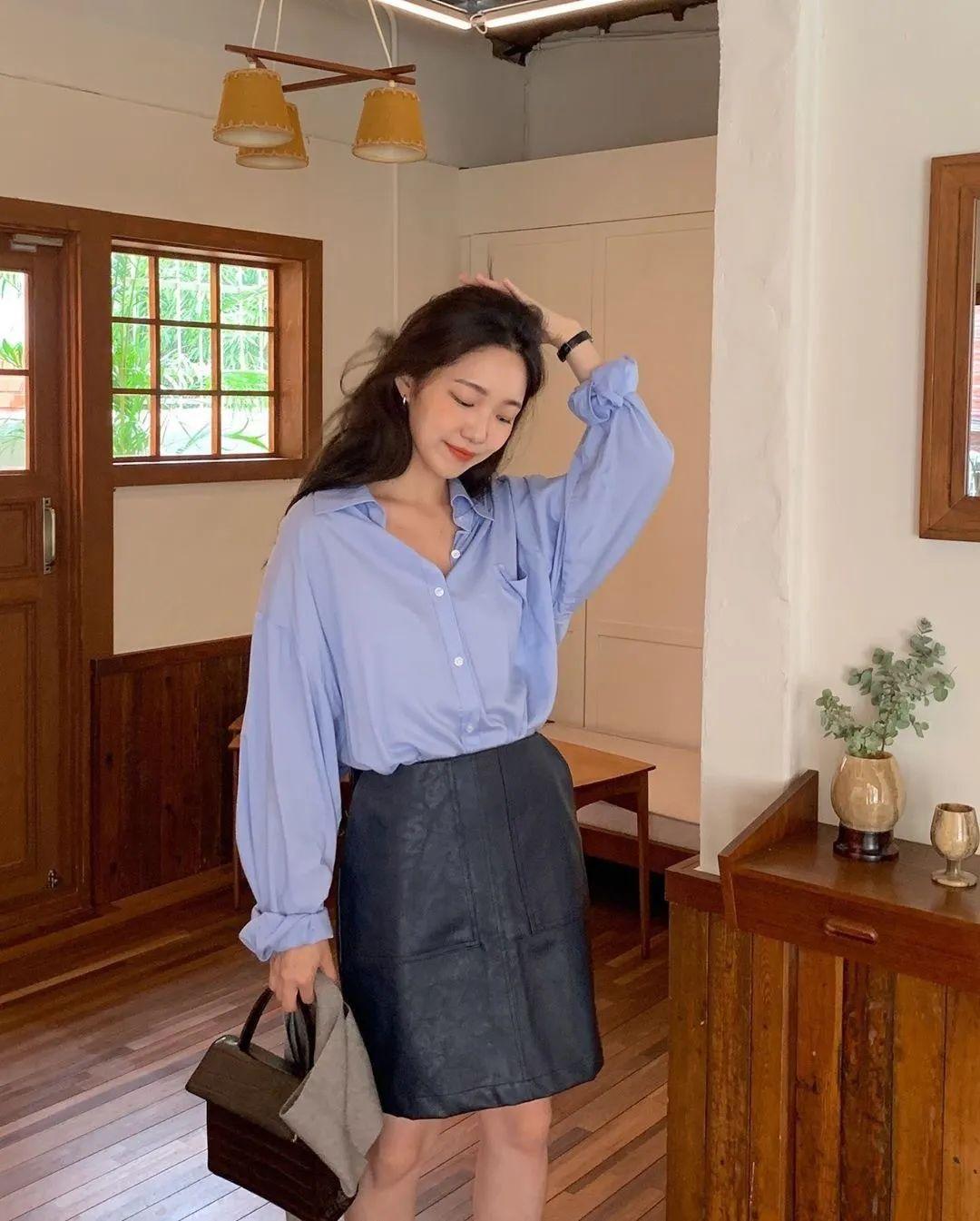 12 set đồ đáng chú ý từ hội gái Hàn mà nàng công sở có thể áp dụng đến ở làm - Ảnh 8.