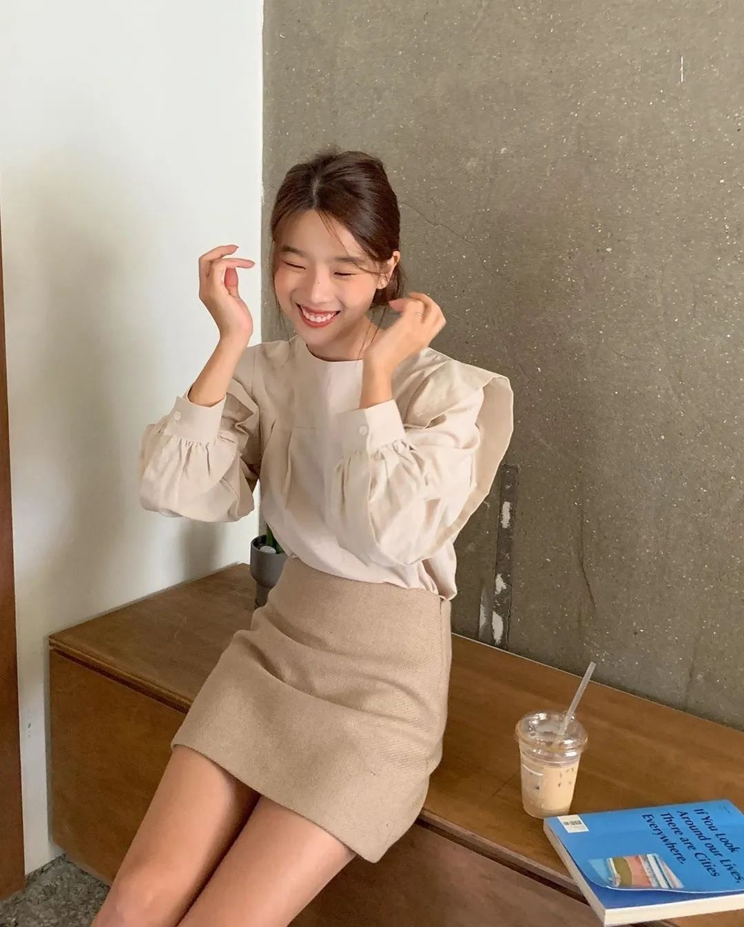 12 set đồ đáng chú ý từ hội gái Hàn mà nàng công sở có thể áp dụng đến ở làm - Ảnh 12.