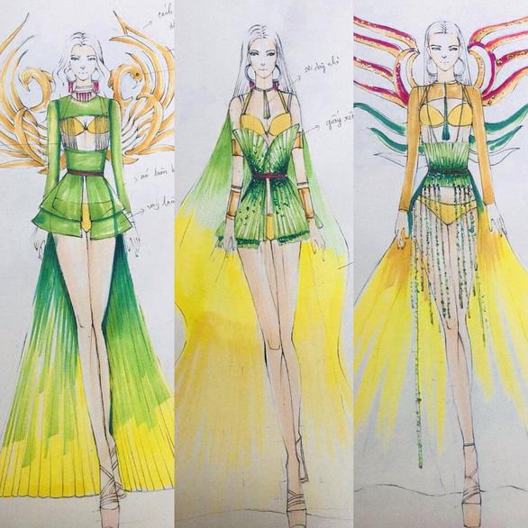 Trang phục thiết kế từ nguyên liệu tái chế kết hợp bikini sẽ được trình diễn tại Miss Tourism Vietnam 2020 - Ảnh 1.