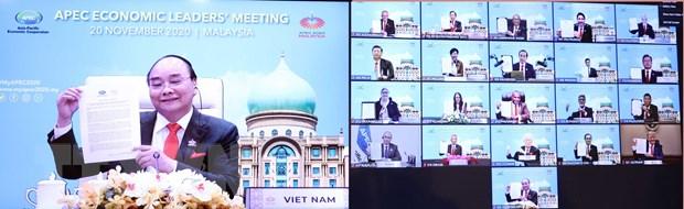 APEC 2020: Tái khẳng định cam kết với hệ thống thương mại đa phương - Ảnh 1.