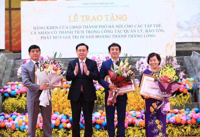 Kỷ niệm 10 Hoàng thành Thăng Long được ghi danh Di sản Văn hóa thế giới - Ảnh 1.