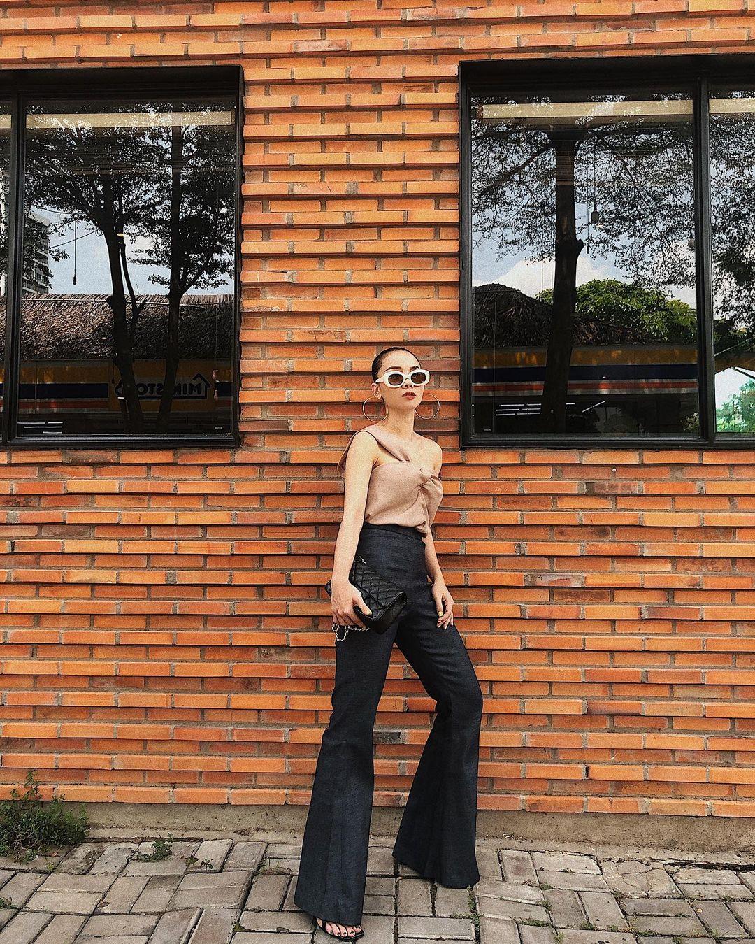 """Mỹ nhân Việt cực chuộng một combo quần dài   giày hack dáng siêu ảo, nàng nấm lùn áp dụng cũng thành """"chân dài tới nách"""" - Ảnh 6."""