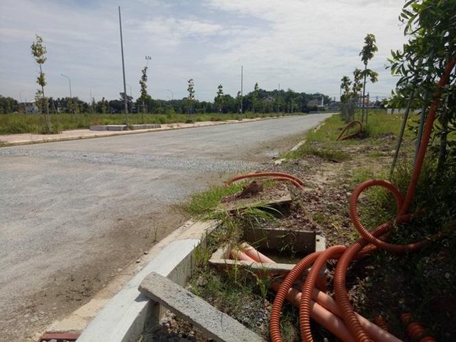 Hiện trạng khu dân cư Mỹ Phước 4 , một trong những dự án tai tiếng liên quan đến Kim Oanh Group