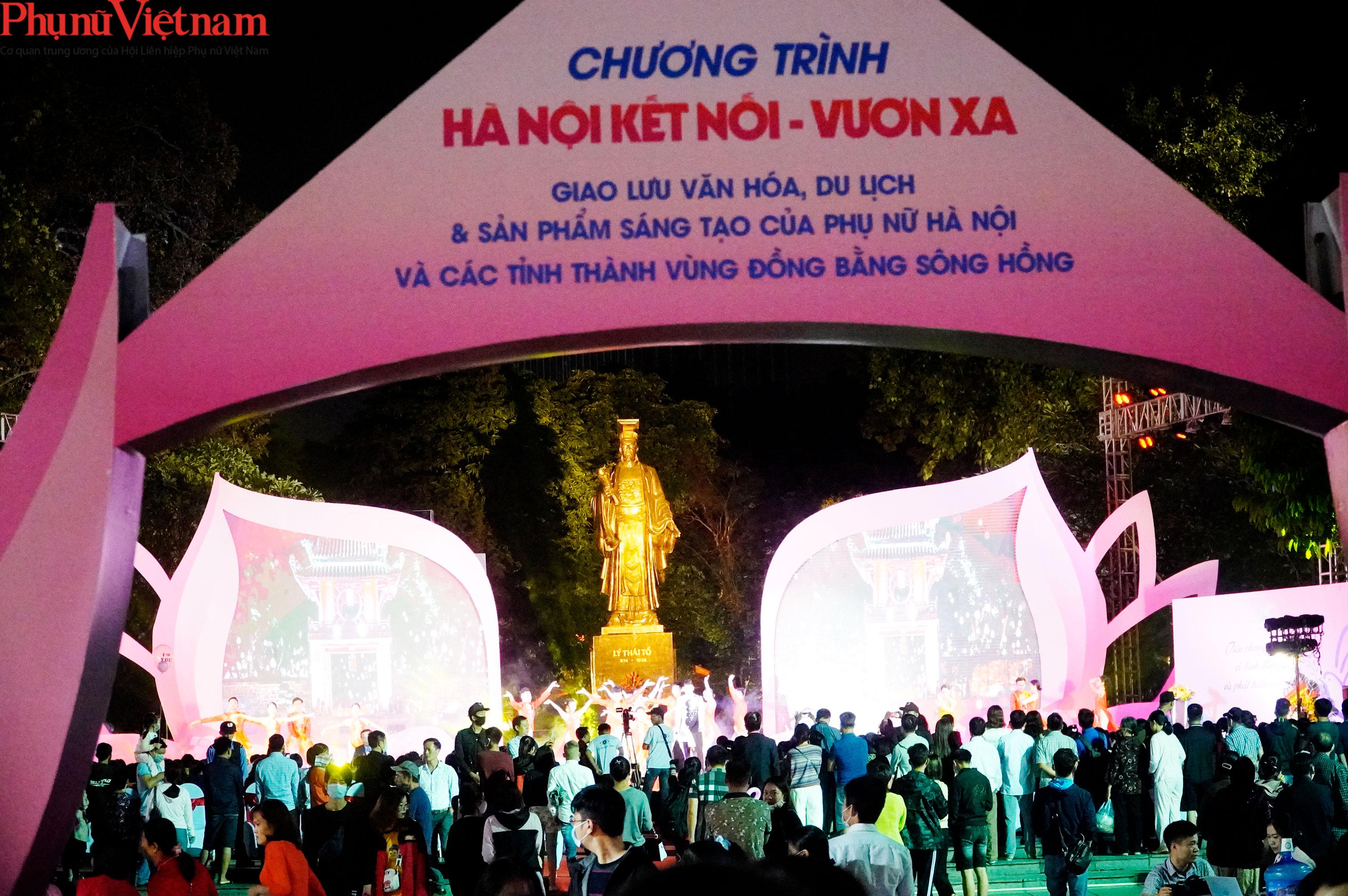 Phụ nữ Hà Nội giao lưu văn hóa, du lịch và sản phẩm sáng tạo với các tỉnh thành thuộc Đồng bằng sông Hồng - Ảnh 5.