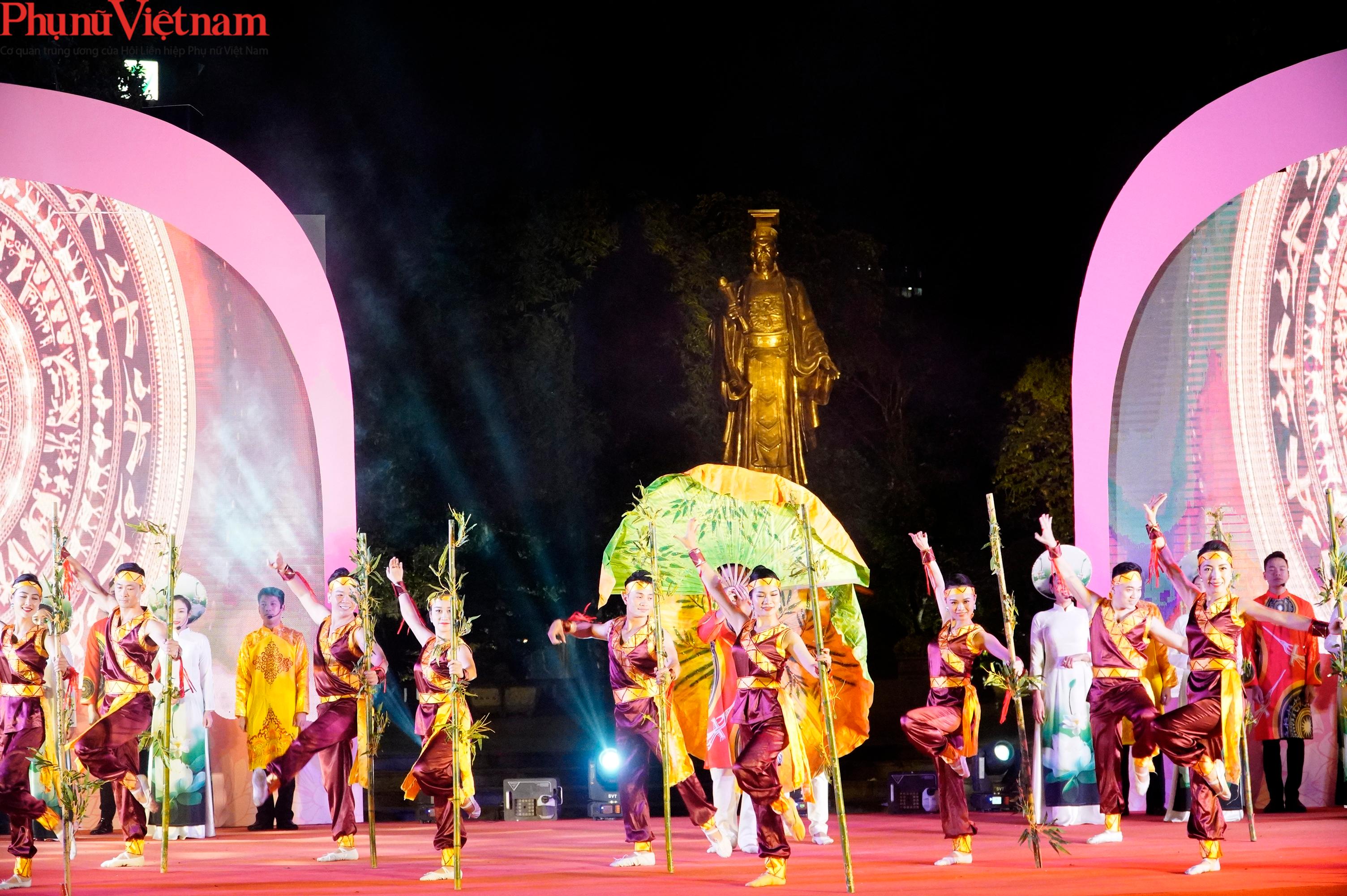 Phụ nữ Hà Nội giao lưu văn hóa, du lịch và sản phẩm sáng tạo với các tỉnh thành thuộc Đồng bằng sông Hồng - Ảnh 6.