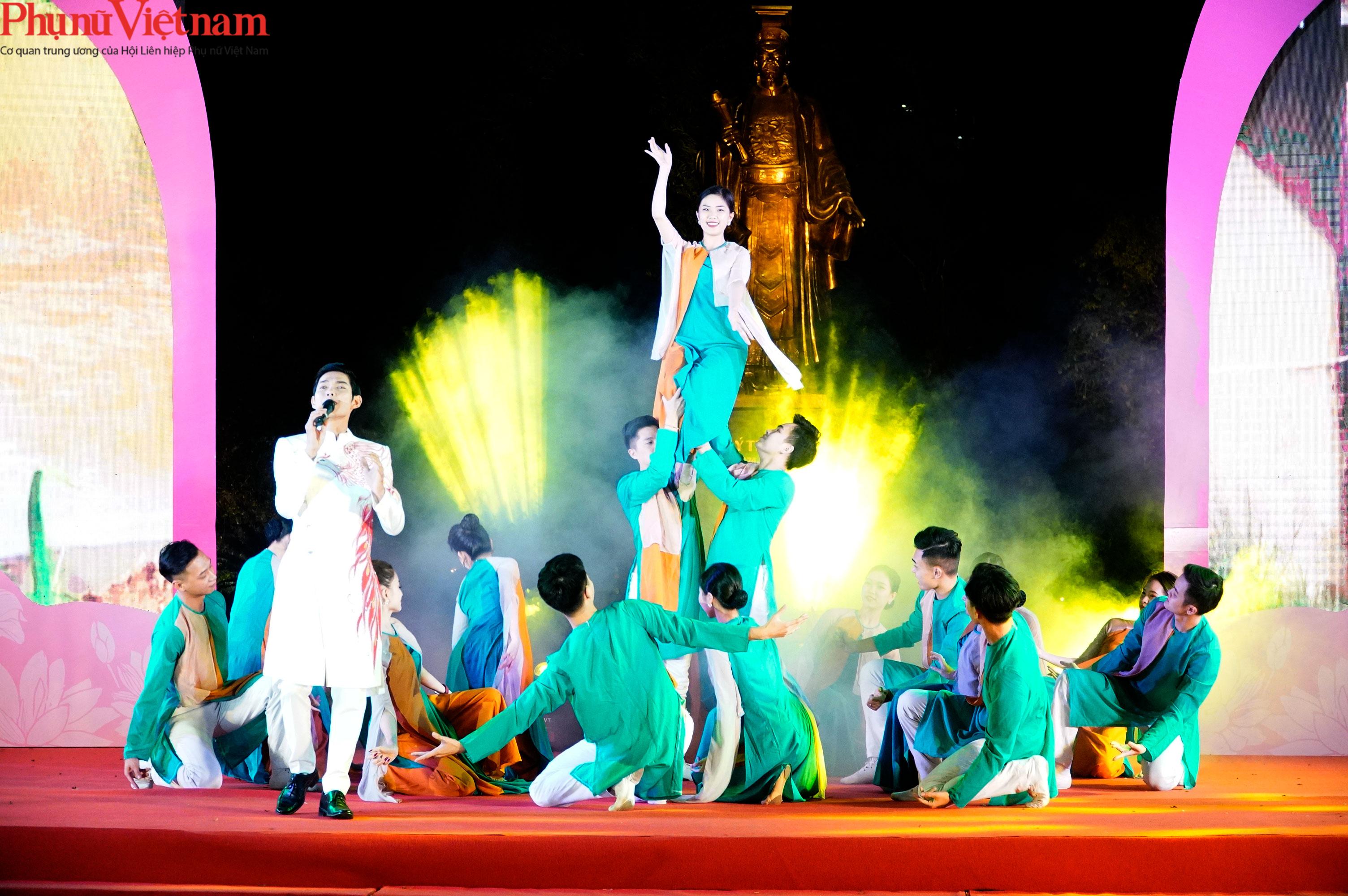 Phụ nữ Hà Nội giao lưu văn hóa, du lịch và sản phẩm sáng tạo với các tỉnh thành thuộc Đồng bằng sông Hồng - Ảnh 8.