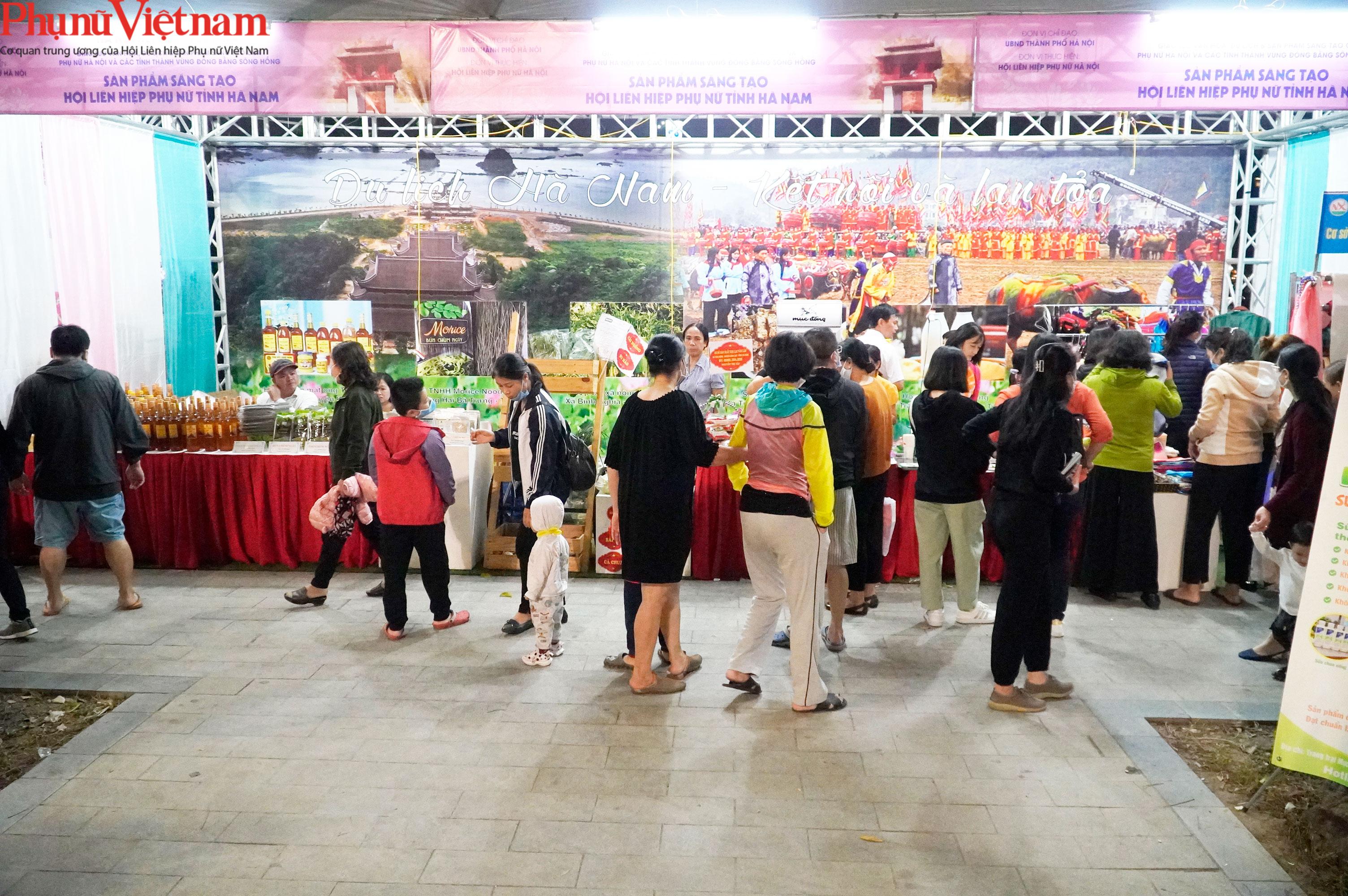 Phụ nữ Hà Nội giao lưu văn hóa, du lịch và sản phẩm sáng tạo với các tỉnh thành thuộc Đồng bằng sông Hồng - Ảnh 11.