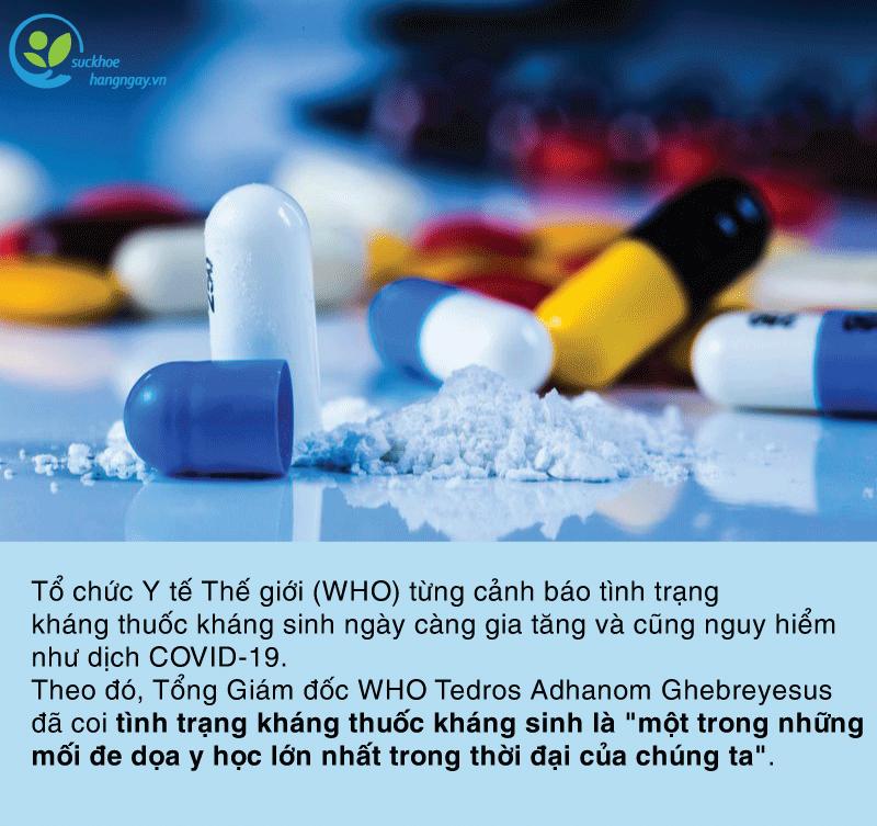 Lạm dụng kháng sinh: Hiểm họa kháng thuốc khôn lường! - Ảnh 3.