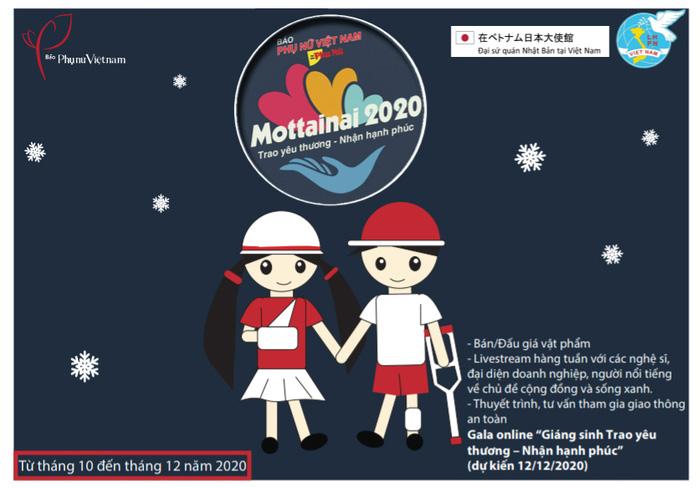 """Nhóm nhạc Minh Đăng và những người bạn tham gia Gala trực tuyến """"Giáng sinh Trao yêu thương - Nhận hạnh phúc"""" Mottainai 2020 - Ảnh 3."""