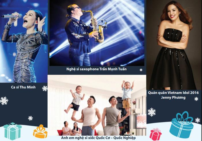 """Nhóm nhạc Minh Đăng và những người bạn tham gia Gala trực tuyến """"Giáng sinh Trao yêu thương - Nhận hạnh phúc"""" Mottainai 2020 - Ảnh 7."""