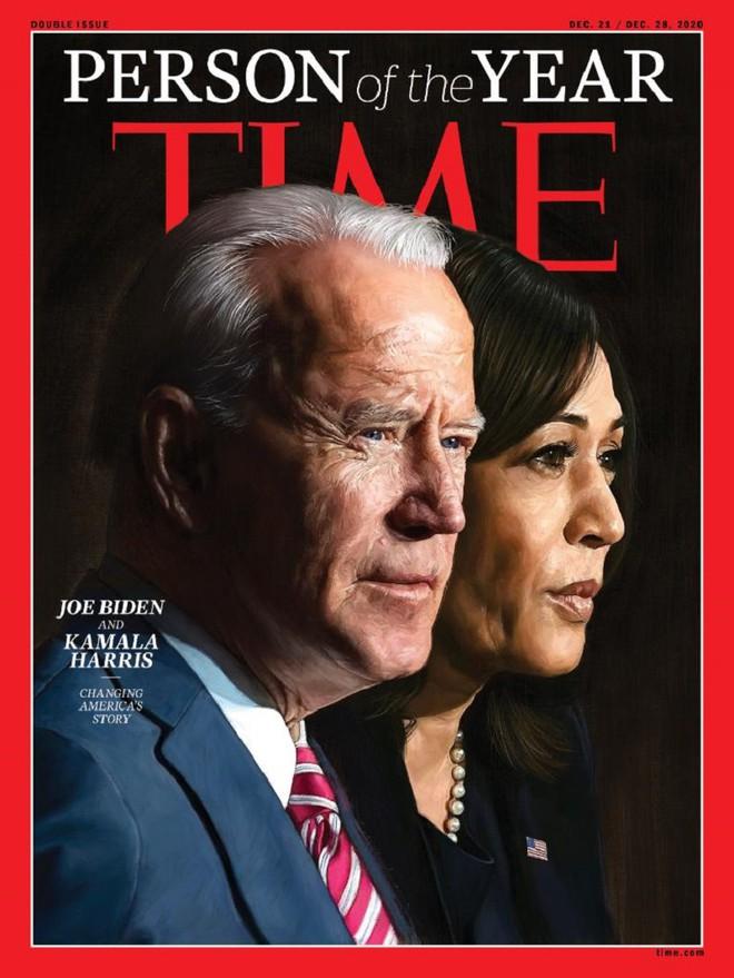 Ông Biden và bà Harris là Nhân vật năm 2020 của tạp chí Time - Ảnh 1.