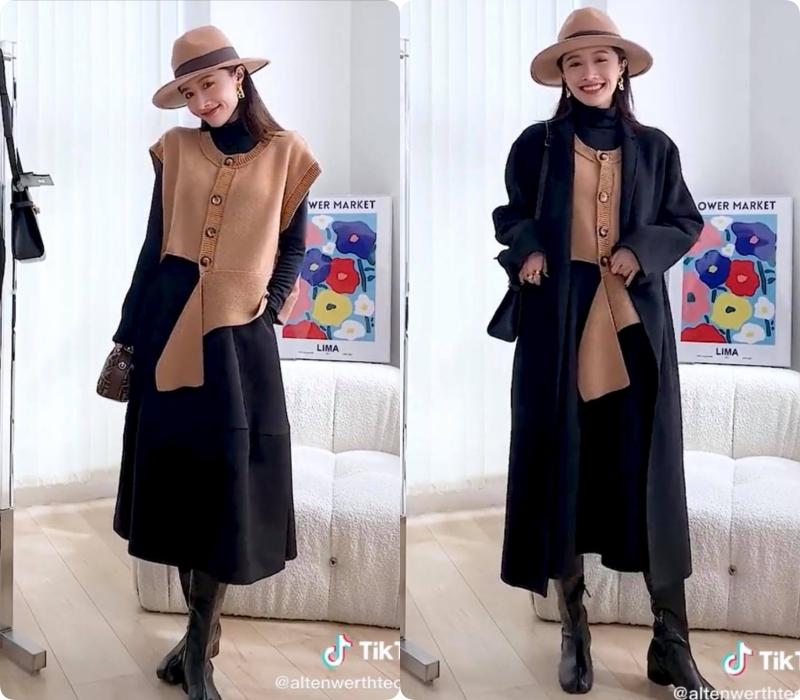 """8 công thức mix đồ dành riêng cho nàng ghiền màu đen: Cứ mặc lên người là """"chanh xả"""" miễn chê - Ảnh 9."""
