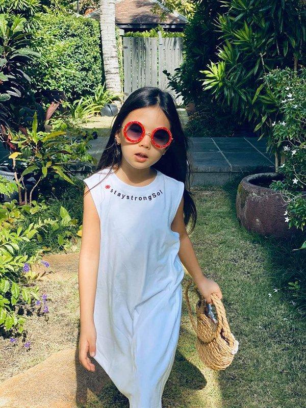 Mê phong cách của con gái Đoan Trang, các mẹ học ngay cách chọn đồ hè cho công chúa cưng - Ảnh 5.