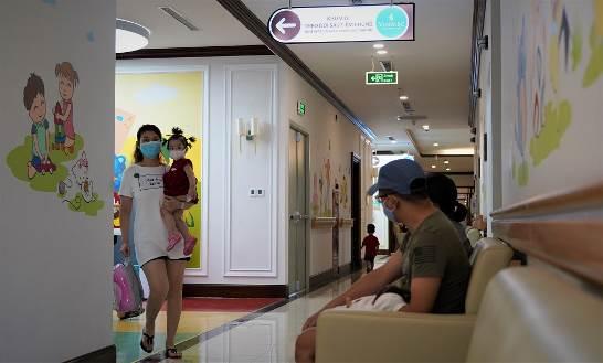 """Cận cảnh Trung tâm tiêm chủng 5 sao """"một chiều"""" đầu tiên tại Hà Nội - Ảnh 9."""
