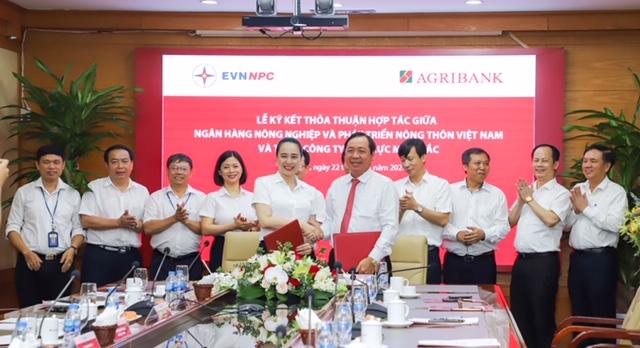 Agribank và Tổng Công ty Điện lực Miền Bắc – Nâng tầm hợp tác - Ảnh 1.