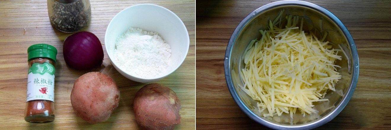 Bánh khoai tây chiên mềm ngon dùng cho bữa sáng hay bữa phụ cũng đều rất hợp - Ảnh 1.