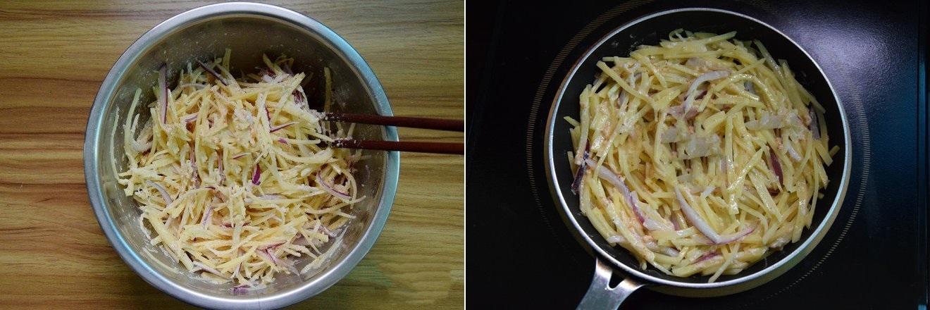 Bánh khoai tây chiên mềm ngon dùng cho bữa sáng hay bữa phụ cũng đều rất hợp - Ảnh 3.