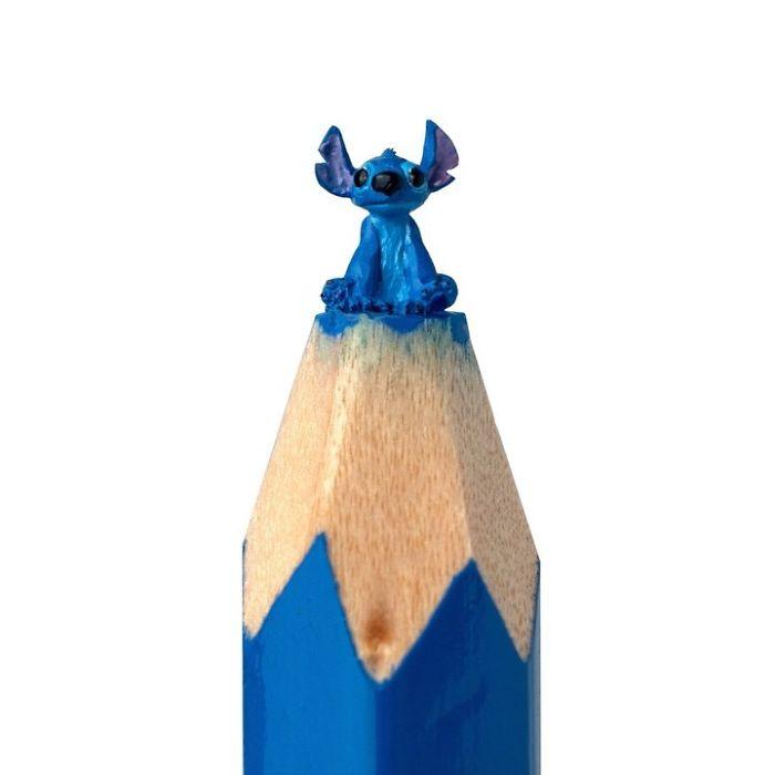 Ngỡ ngàng với loạt tác phẩm điêu khắc bé tí ti trên đầu bút chì - Ảnh 17.