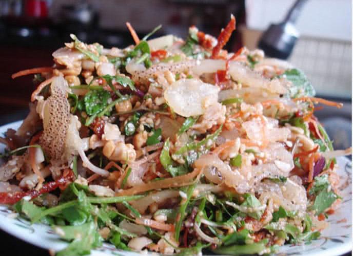 Tín đồ Hà Thành hẹn nhau giải nhiệt mùa hè với món gỏi sứa - Ảnh 3.