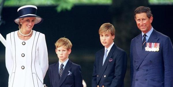 Giữa lúc em trai và em dâu bỏ đi, Hoàng tử William  đau lòng khi nhớ về Công nương Diana - Ảnh 4.