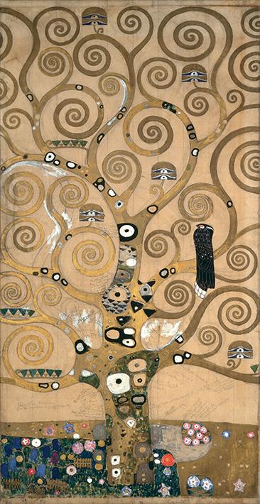 Tác phẩm Cây đời của Gustav Klimt