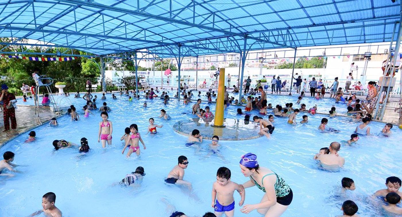 Cập nhật giá vé thời điểm hiện tại của các bể bơi ở Hà Nội theo quận giúp chị em dẫn cả gia đình tới giải nhiệt ngày hè khỏi lăn tăn - Ảnh 4.
