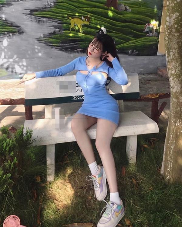Đeo kính cận dễ thương, hotgirl từng giả làm xe ôm công nghệ vẫn có ba vòng đẹp mướt mắt - Ảnh 9.