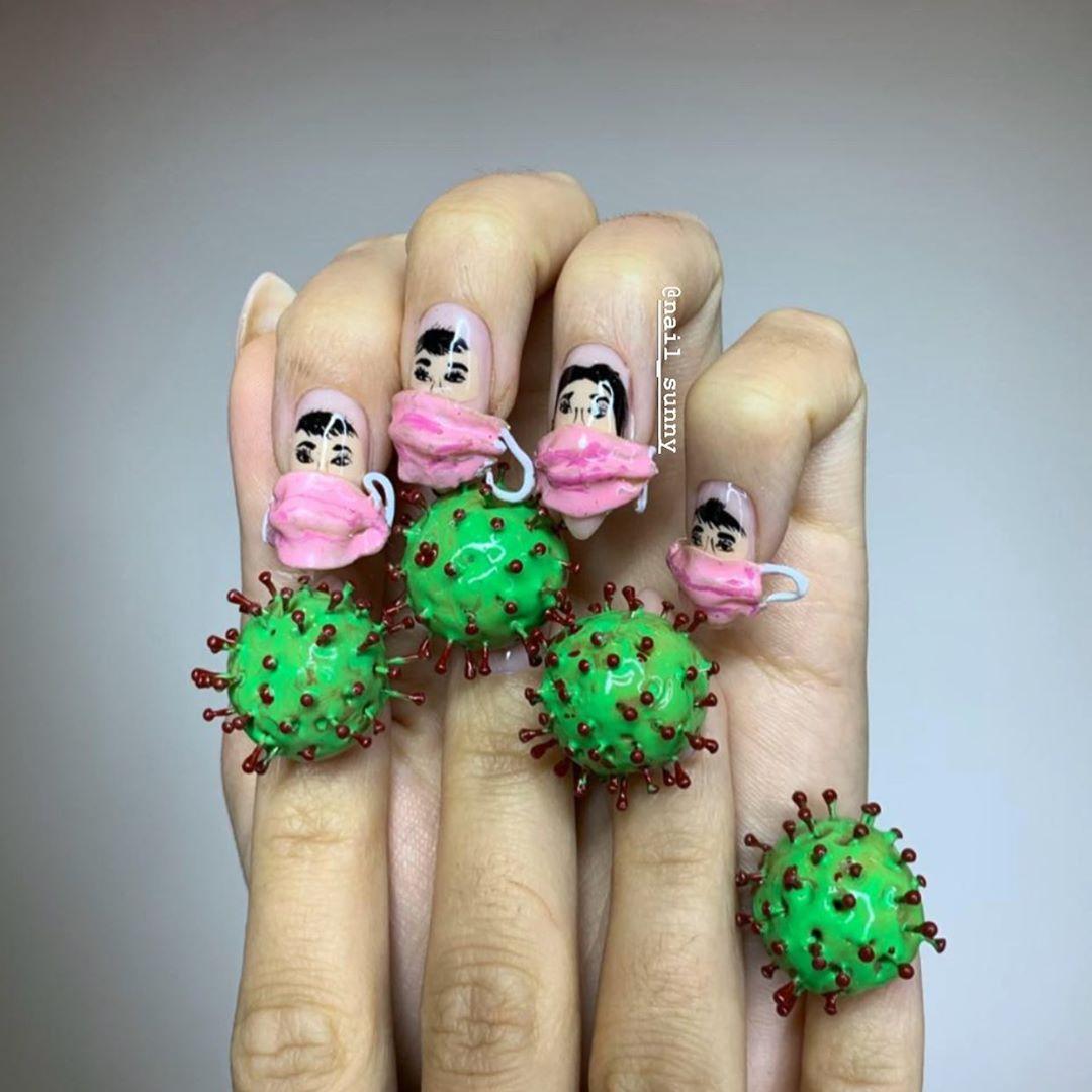 Chán kiểu móng tay đẹp quyến rũ, cặp chị em thợ nail sáng tạo ra bộ móng tay nguy hiểm nhất thế giới, nhìn thôi không dám sờ vào - Ảnh 6.