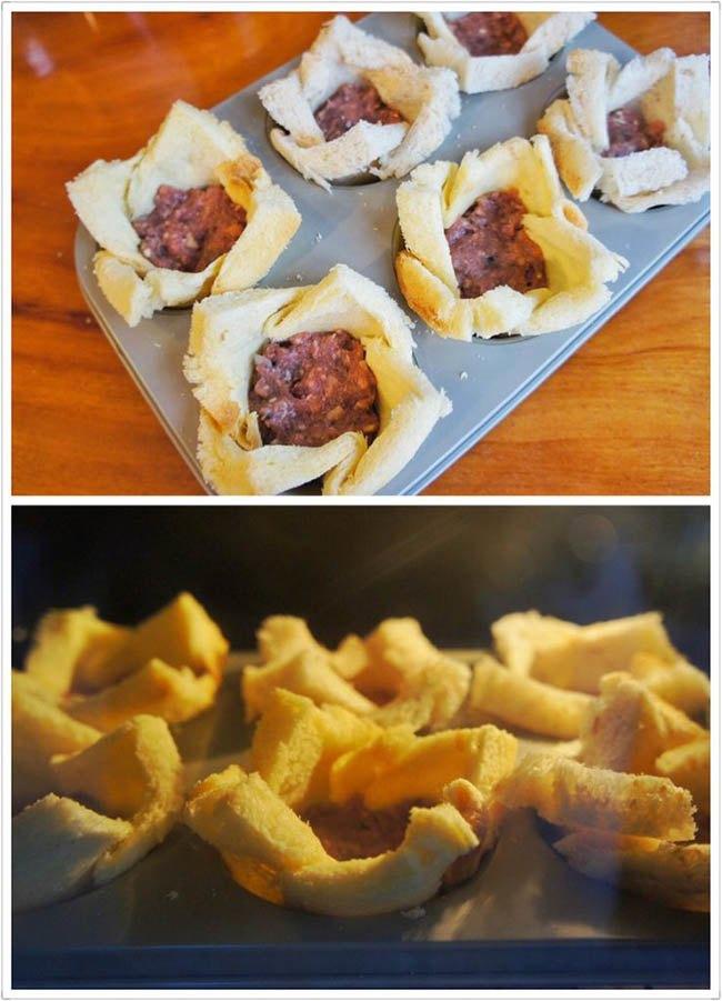 Biến tấu bánh mì gối thành món ăn lạ miệng - Ảnh 4.