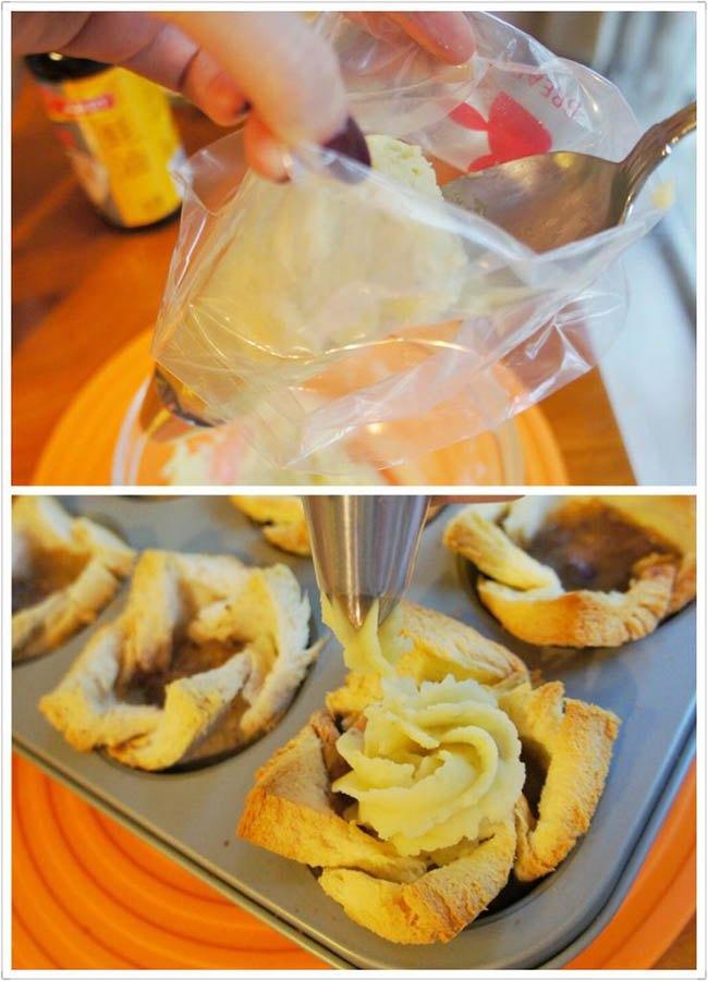 Biến tấu bánh mì gối thành món ăn lạ miệng - Ảnh 7.