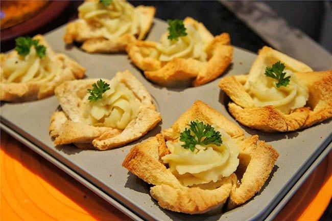 Biến tấu bánh mì gối thành món ăn lạ miệng - Ảnh 8.