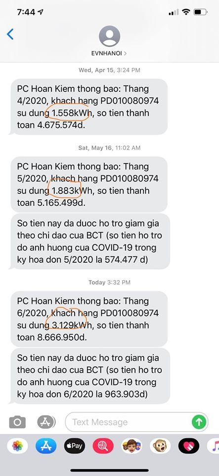 Người dân hốt hoảng nhìn hóa đơn tiền điện tháng 5 - Ảnh 1.