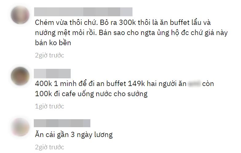 """Dân mạng tranh cãi ầm ĩ vì suất bánh canh hoàng gia 390k ở Bình Dương: """"Thà đi ăn buffet hải sản còn hơn!"""" - Ảnh 4."""