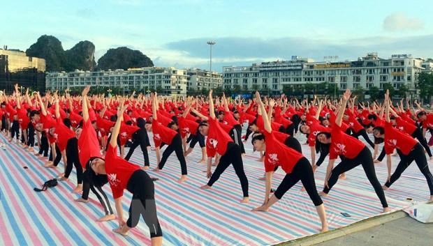 Gần 3.000 người tham gia Ngày Quốc tế Yoga lần thứ 6 tại Hạ Long - Ảnh 4.