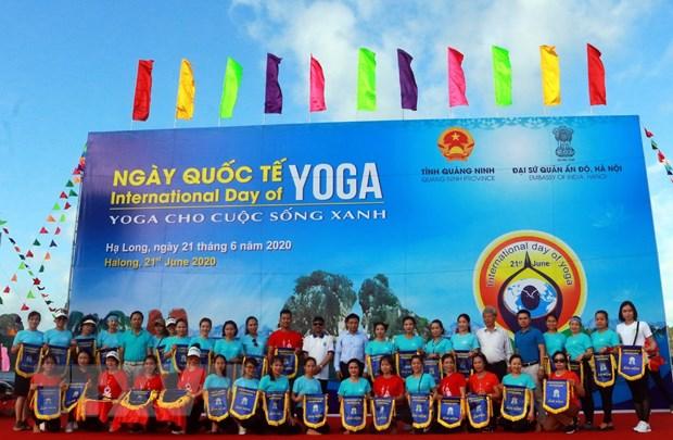 Gần 3.000 người tham gia Ngày Quốc tế Yoga lần thứ 6 tại Hạ Long - Ảnh 5.