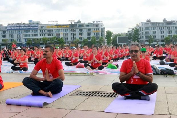 Gần 3.000 người tham gia Ngày Quốc tế Yoga lần thứ 6 tại Hạ Long - Ảnh 3.
