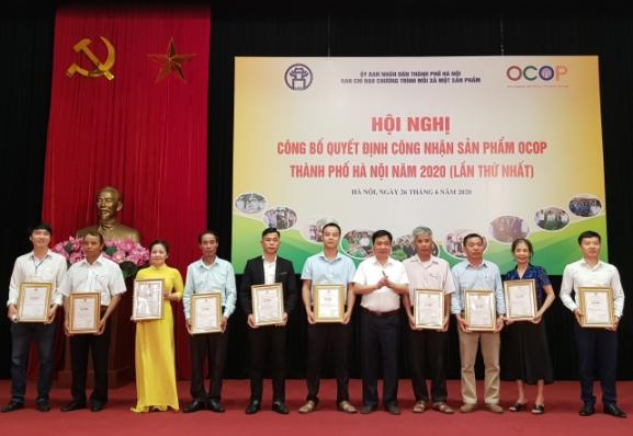 275 sản phẩm OCOP được thành phố Hà Nội công nhận  - Ảnh 2.