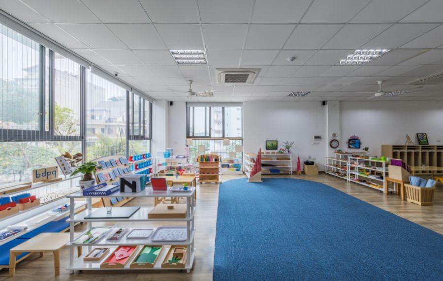 """Review những trường mầm non nổi tiếng theo hệ Montessori tại Hà Nội dành cho bố mẹ đang chuẩn bị cho con """"đi bộ đội"""" hè năm nay - Ảnh 8."""